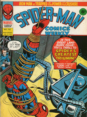 Spider-Man Comics Weekly #152, Spider-Slayer