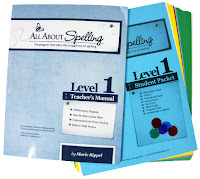 homeschool language arts curriculum- all about spelling