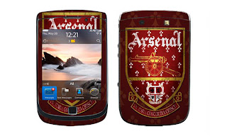 Blackberry Logo Arsenal