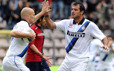 Cagliari Inter 2-2 highlights