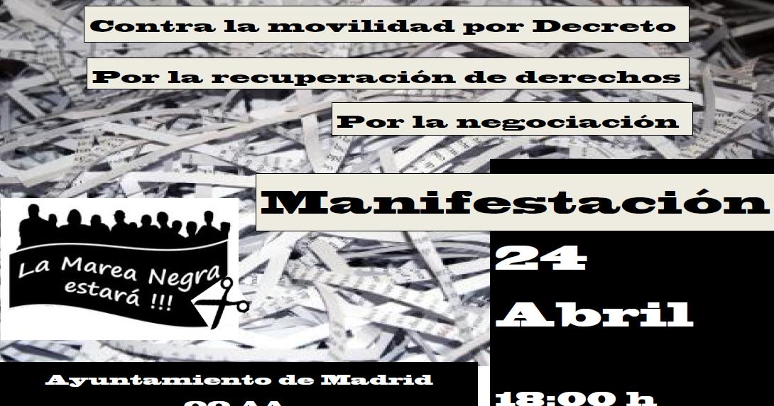 Cgt agencia para el empleo 24 de abril manifestaci n for Agencia de empleo madrid