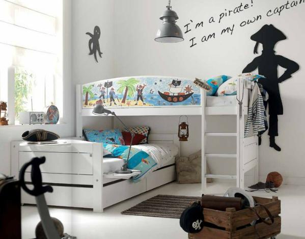Twee kinderen op n kamer - Deco kamer kind gemengd ...