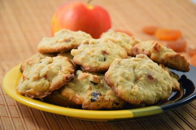 Ciasteczka z jabłkami i nie tylko ;)