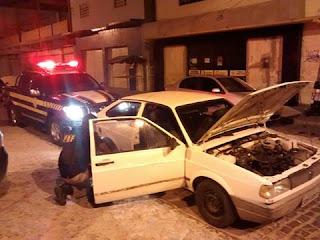PRF recupera veículo roubado em Delmiro Gouveia