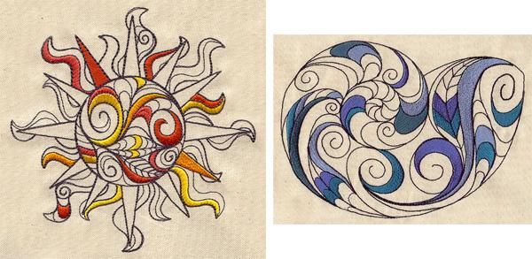 doodle shapes, doodle stitching, doodle patterns, doodling, doodle embroidery