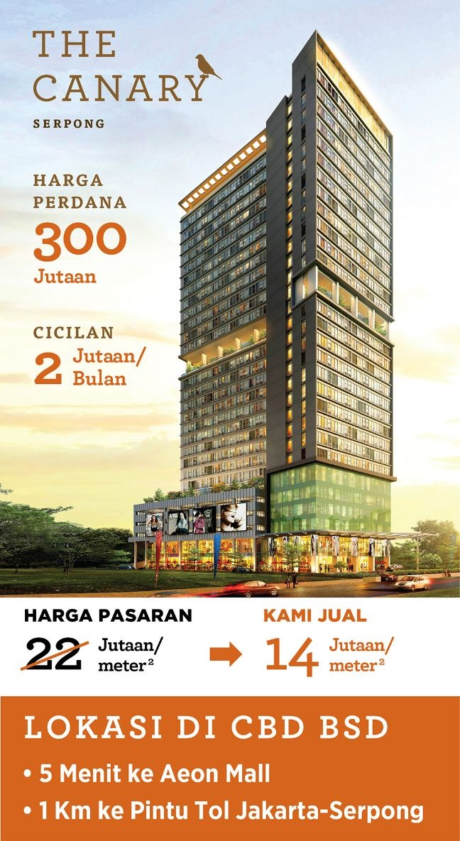 Image result for canary apartemen