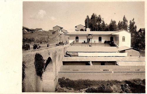 Bajada de El Tambo, antiguo Camal