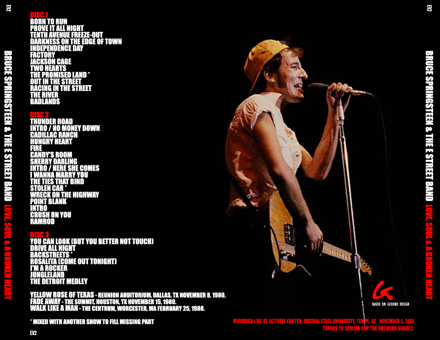 Bruce Springsteen I Wanna Marry You
