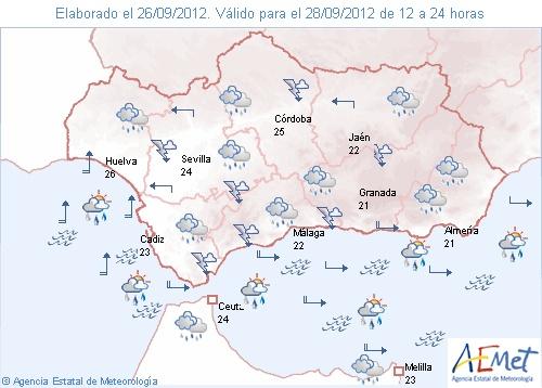 Alerta naranja en Granada y Almería por nevadas, El tiempo - RTVE ...