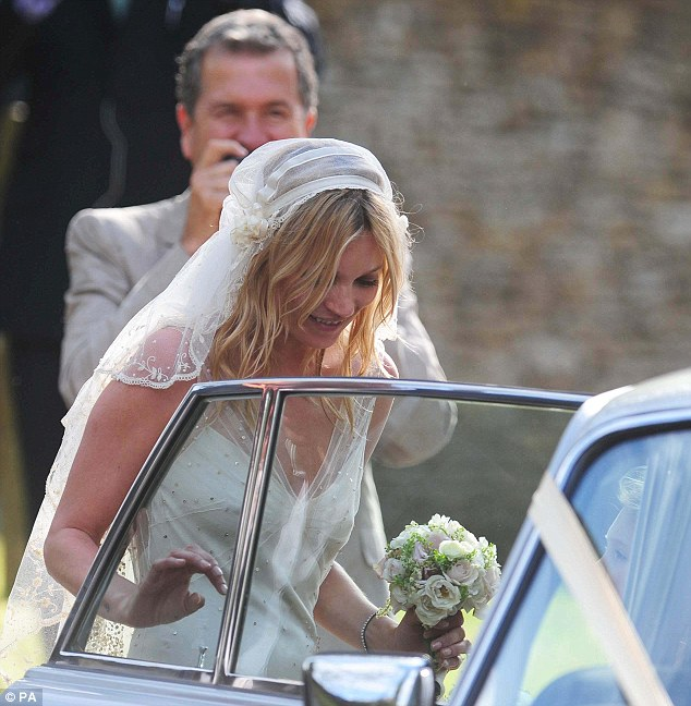 Wedding of Kate Moss to Jamie Hince