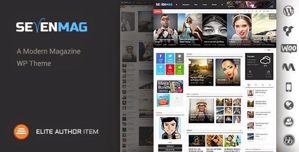 SevenMag v2.3 – Blog/Magzine/Games/News WordPress Theme