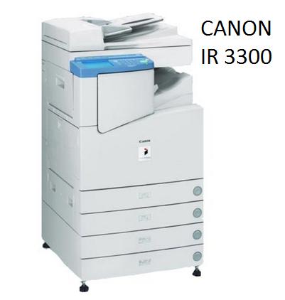 Harga dan Spesifikasi Mesin Fotocopy Canon IR 3300