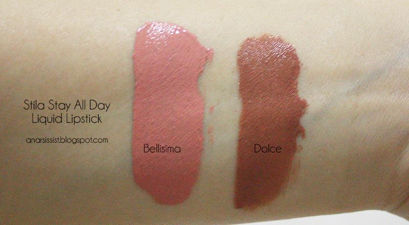 Anarsissist Stila Stay All Day Liquid Lipstick Review