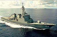 Kongo class guided missile destroyer