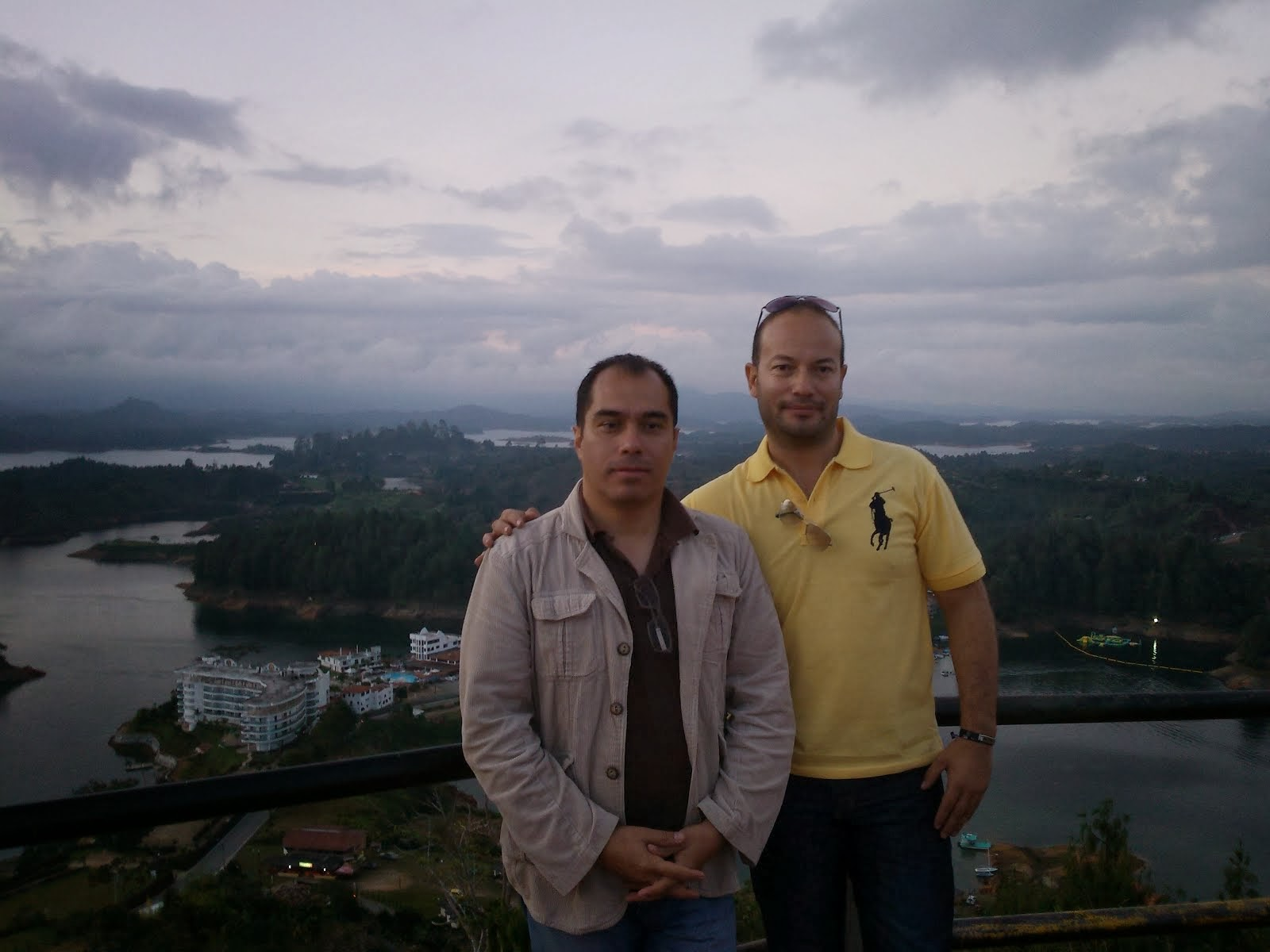 Encuentro de amigos en El Peñol. Antioquia. 2014