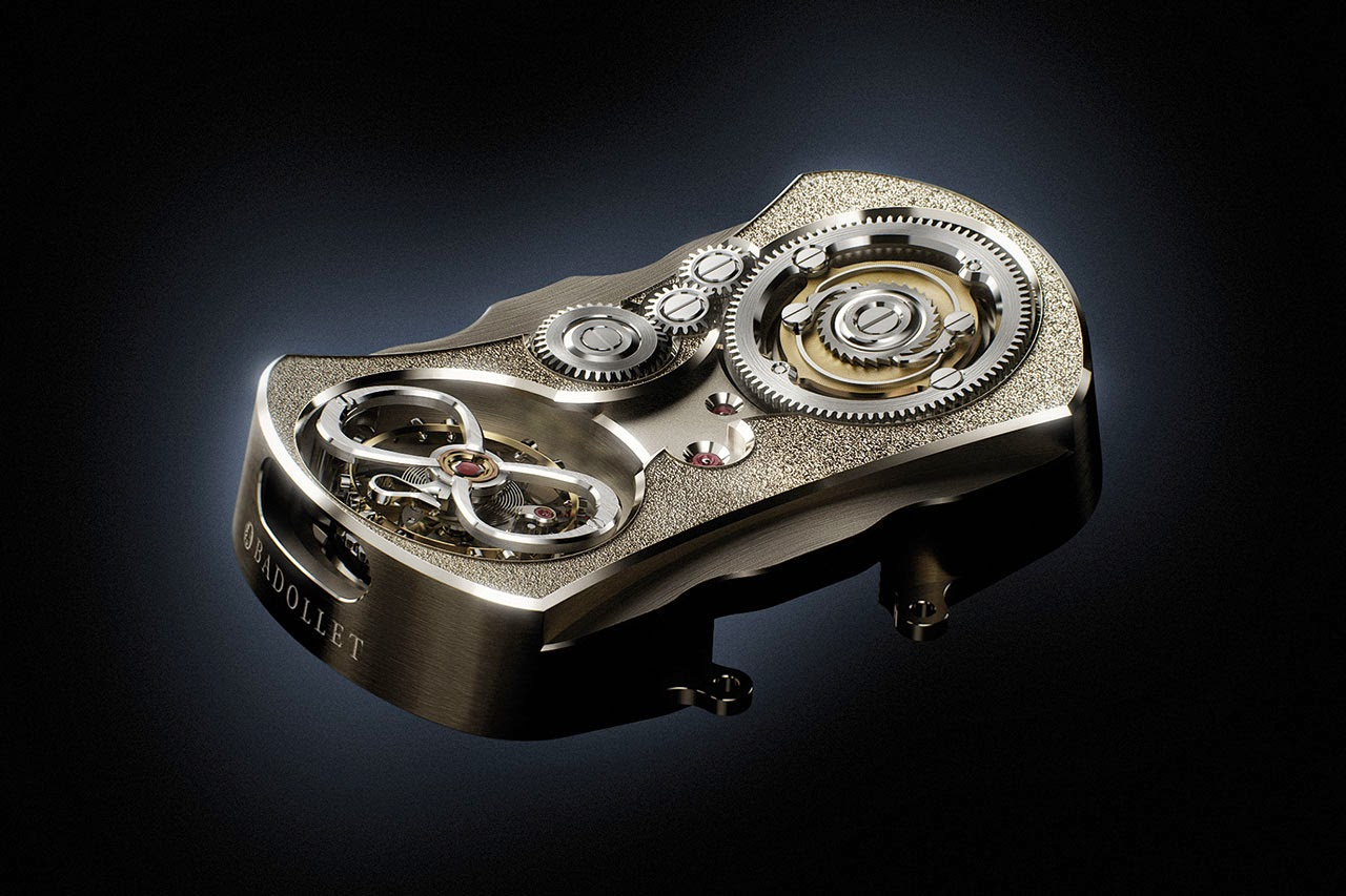 Badollet Ivresse Mechanical Watch movement