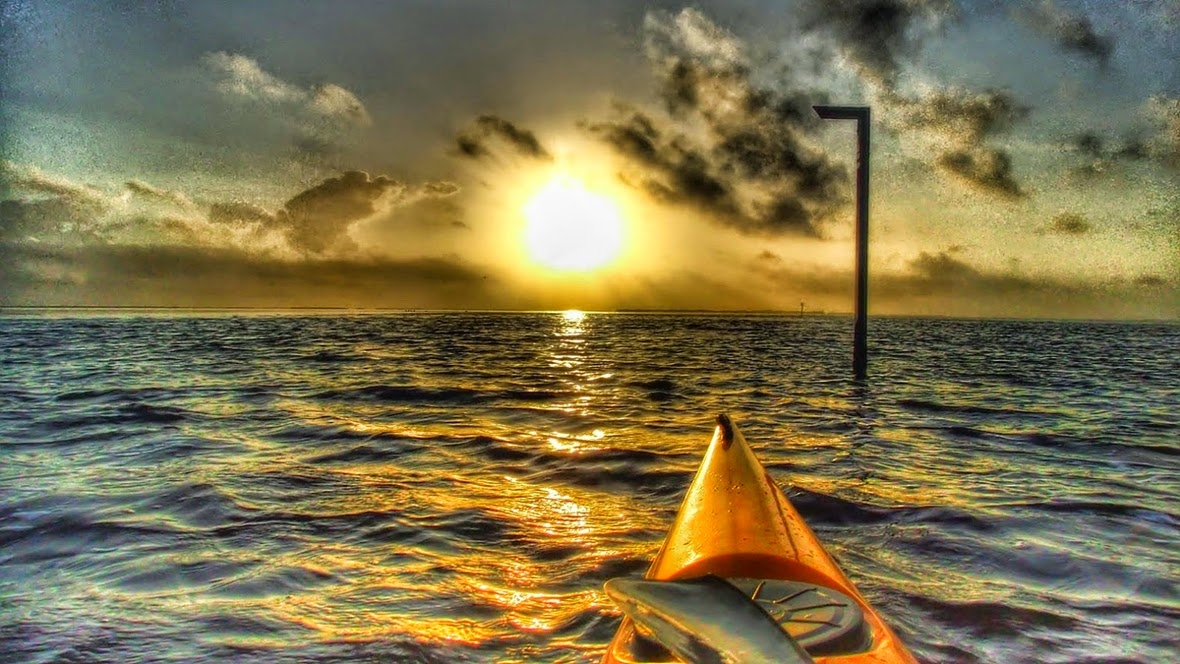 Sunrise on Florida Bay
