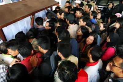 Hasil tes CPNS 2013 akan secara terbuka dan transparan