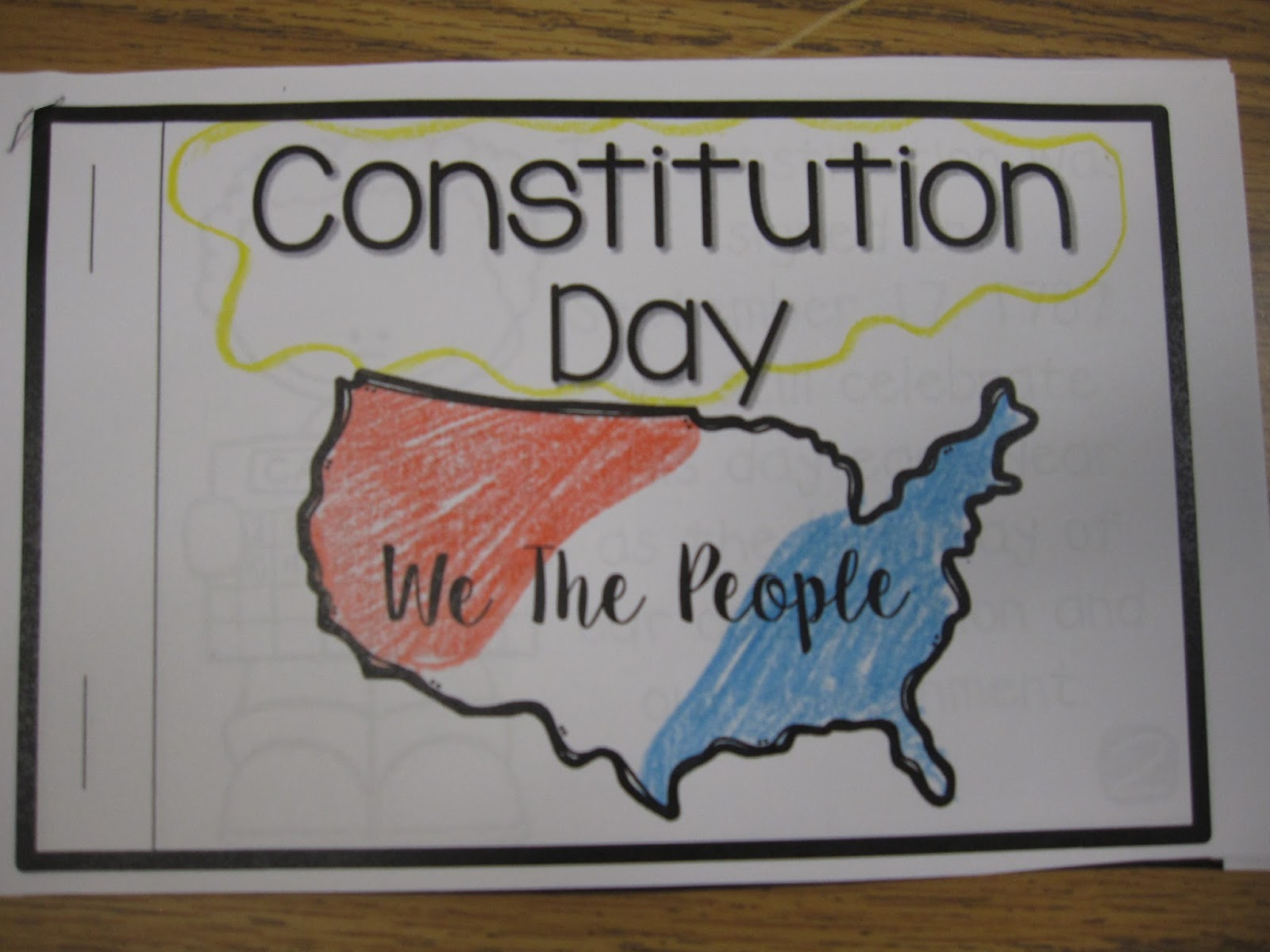 hopping from k to 2 constitution day activities