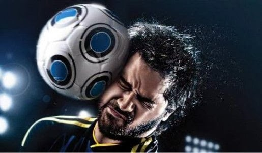 Cabezazo fútbol