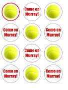 We have now just updated our website with some new Wimbledon Tennis cupcake .
