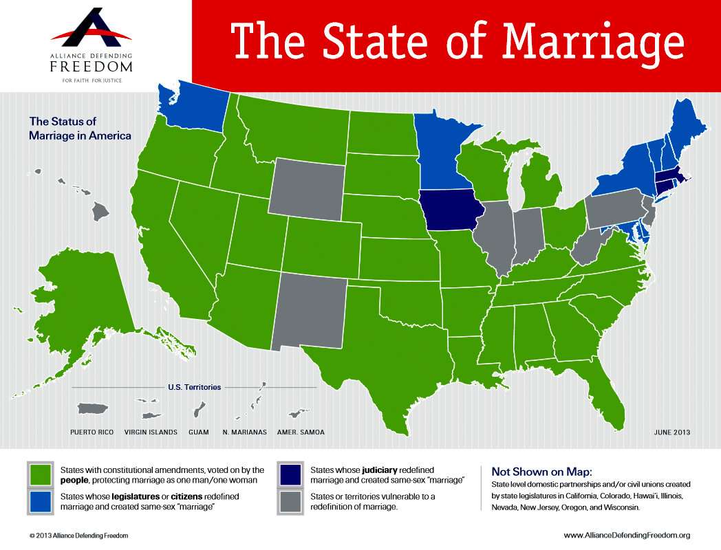 marriage map