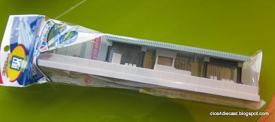 daiso 100 yen store train diorama