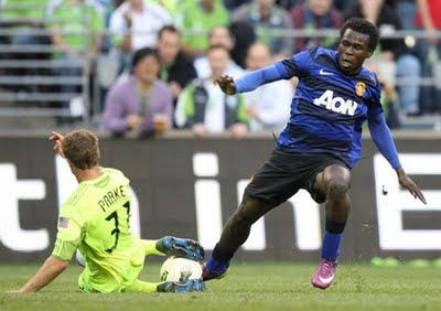 Mame Biram Diouf Man Utd loan on Blackpool
