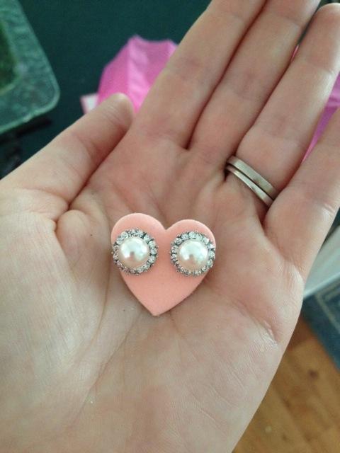 Jojo Loves You Earrings Love How The Earrings Come on