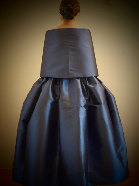 robe de soirée couture sur mesure Versailles Yvelines