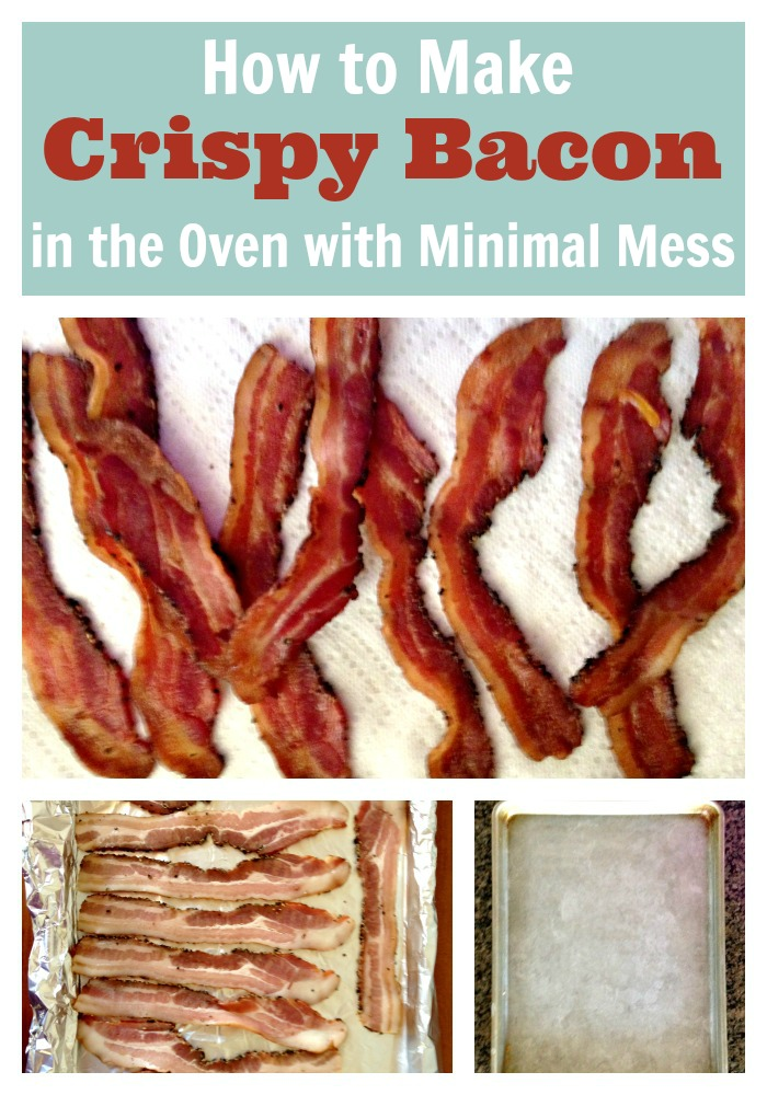 ... Kitchen Tip Tuesday: Make Crispy Bacon in the Oven with Minimal Mess