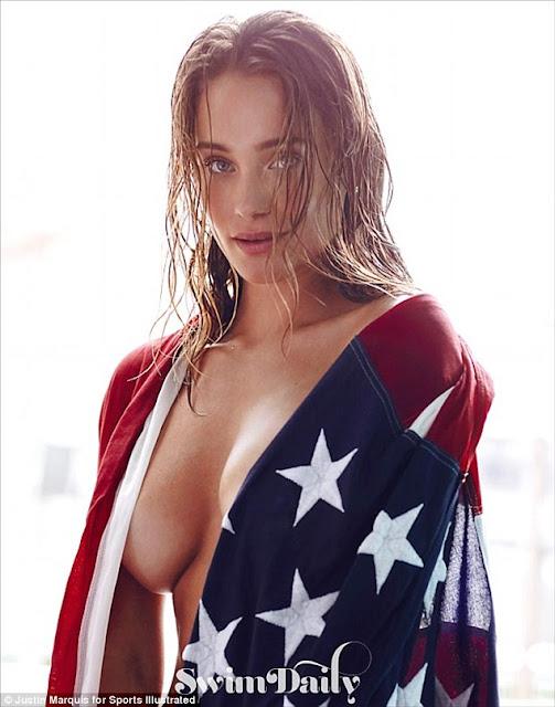 Hannah Davis Swimsuit Photos, Sports Illustrated Swimsuit July 2015