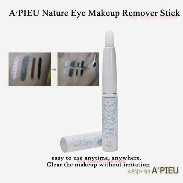 My Beauty Secrets Au0026#39;pieu Nature Eye Makeup Remover Stick