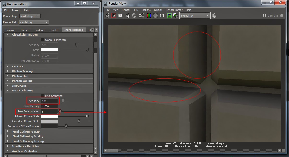 FG Render Setting in Maya 15