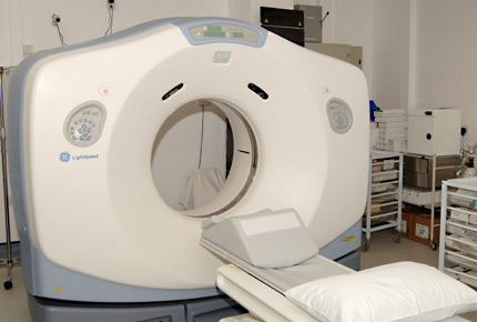 what does a ct scan machine look like