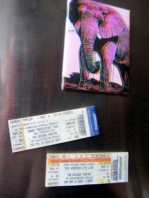 Ticket Stub Magnets