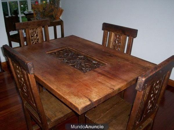 estilos de comedores | mueble de madera a tu estilo