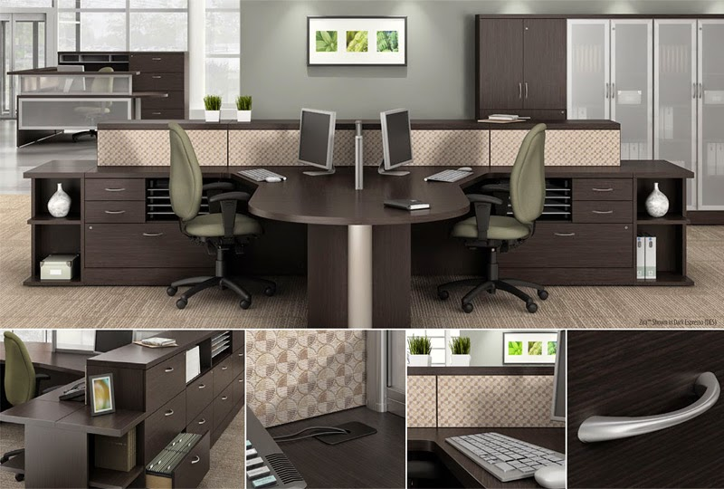 Global Zira Series Desking