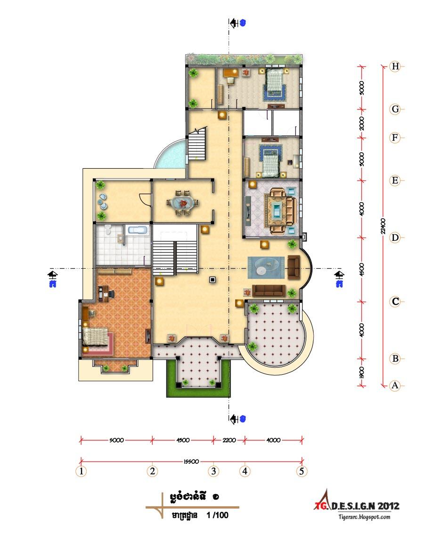 Tigerarchtecture Design 2d Floor Plan Design