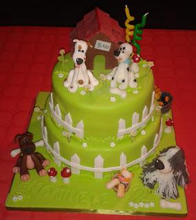 torta bau per ema...