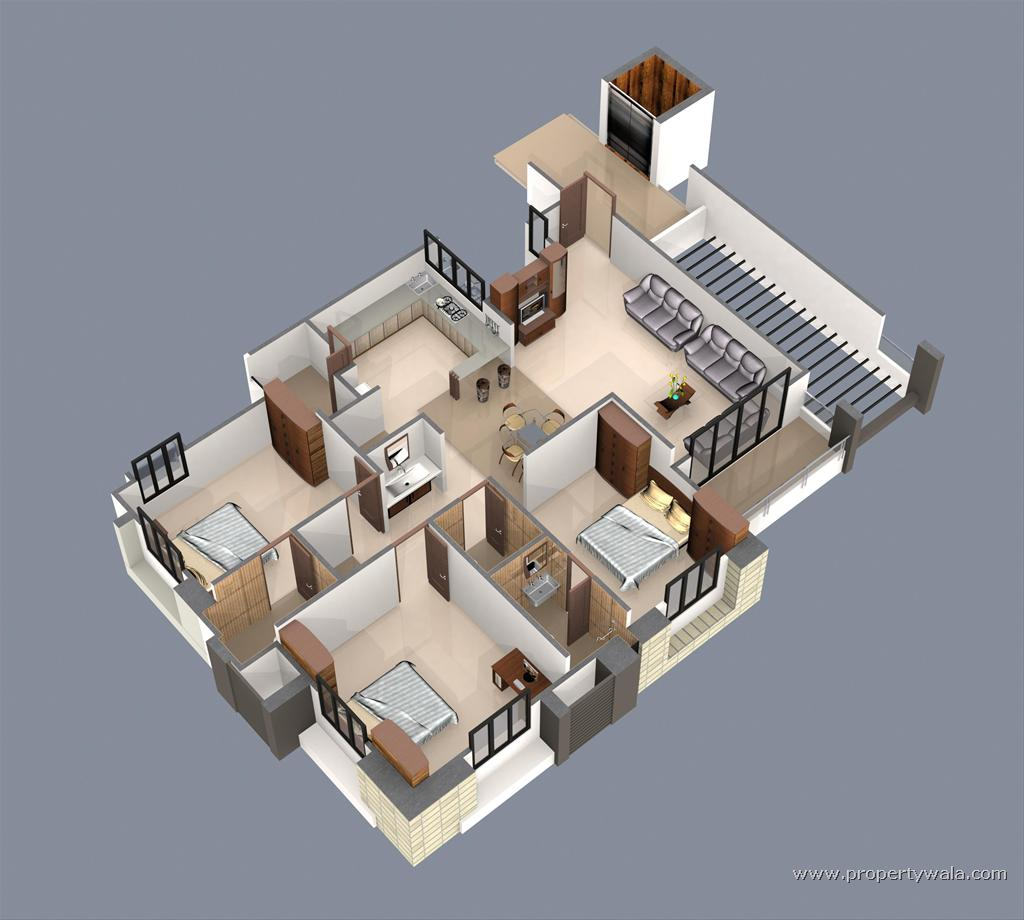 Apartment plans for Perfect house design