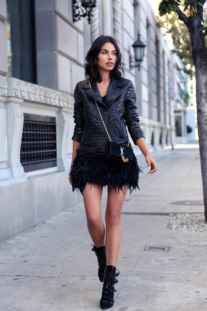 Vivaluxury Fashion Blog By Annabelle Fleur Studs Feathers Cheers To 2015