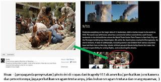 foto kasus rohingnya hoax