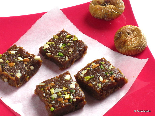 Dried Figs Halwa