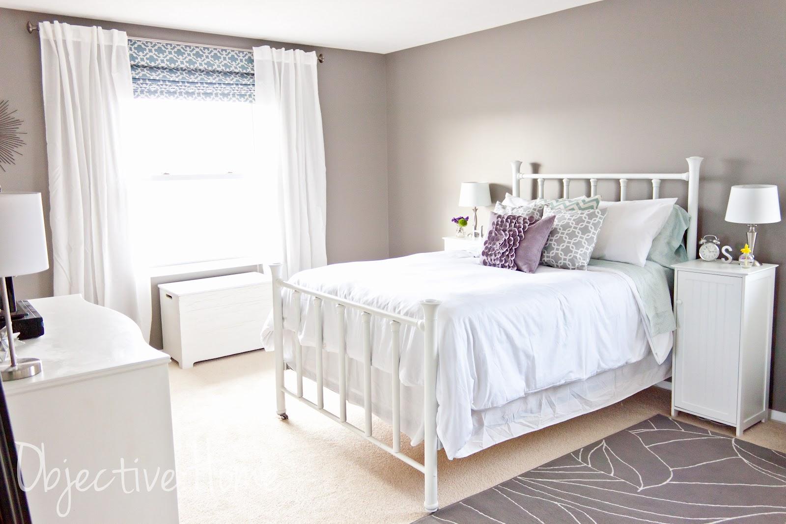 Benjamin Moore Purple Gray : Objective home master bedroom progress