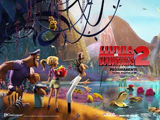 LLuvia de Hamburguesas 2: La Venganza de las sobras (2013) Online