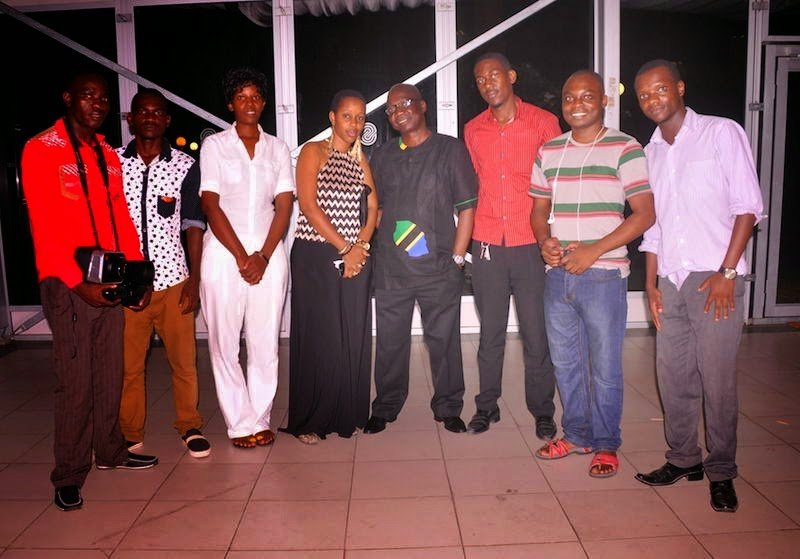 TEAM MICHUZI PRODUCTION YAREKODI KWA WELEDI WA HALI YA JUU MNUSO WA TANZANIA BLOGGERS PARTY SERENA HOTEL JIJINI DAR ES SALAAM