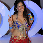Sunny Leone Super Sexy Cleavage and Navel Show In XXX Energy Drink Photoshoot.