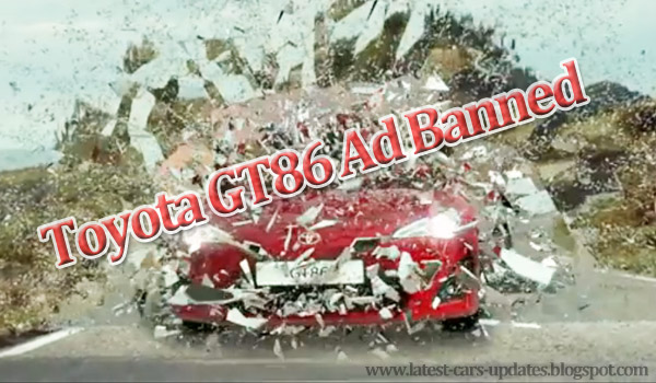 Toyota GT86 Ad banned in uk