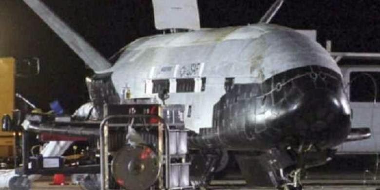 Pesawat Mata-mata Antariksa AS Kembali ke Bumi
